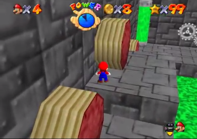 super mario 64 star road final course